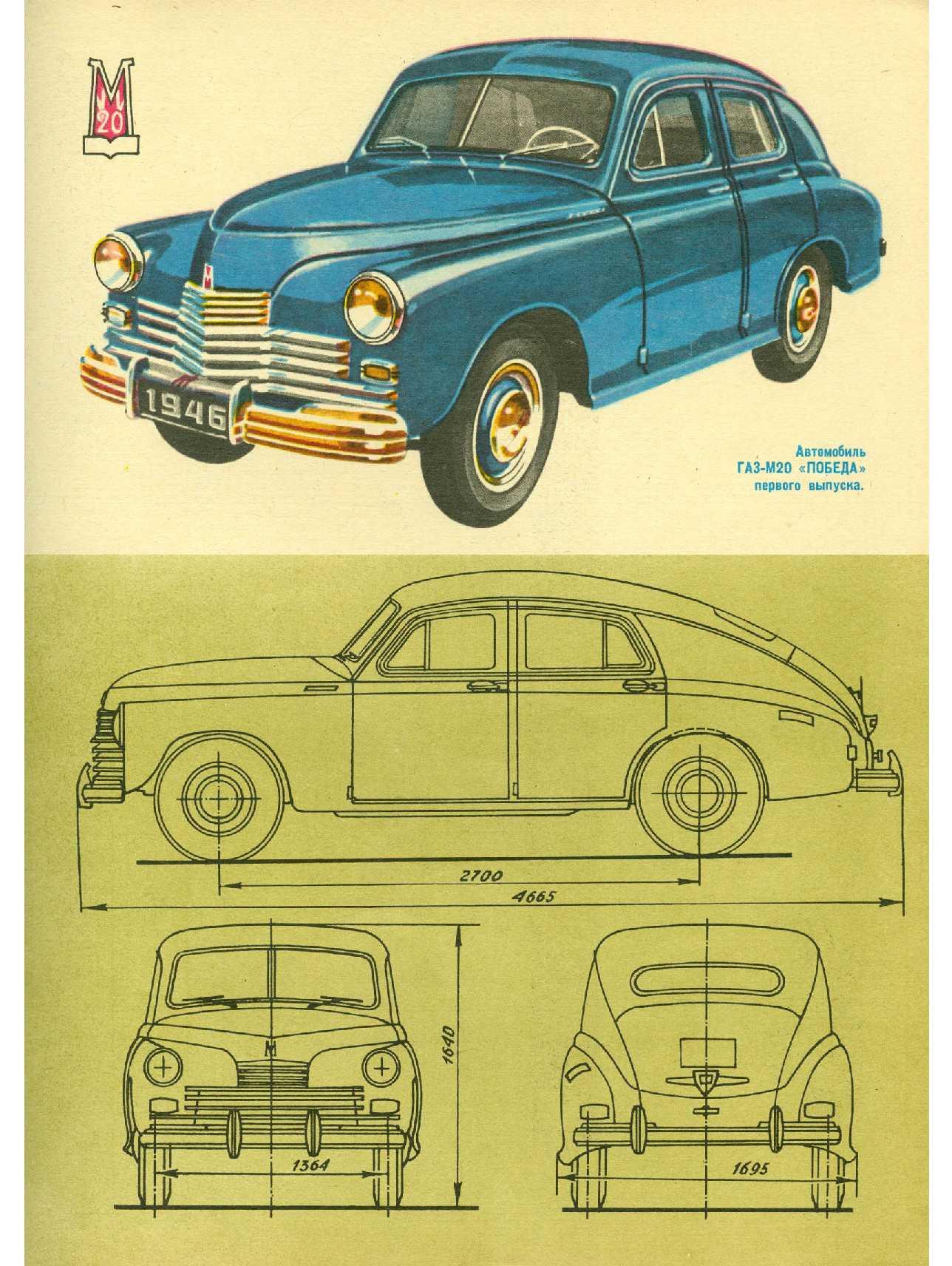 Схема отечественных машин